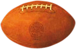 1887 Spalding very first American football